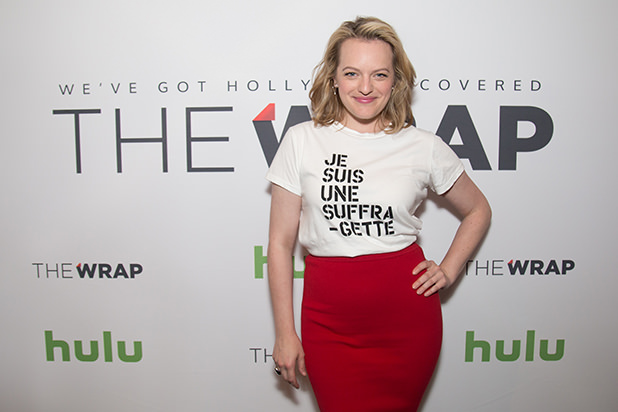 Elisabeth Moss at Power Women Breakfast Photographed by E. Brady Robinson for TheWrap